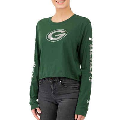 New Era Langarmshirt »NFL Cropped Green Bay Packers«