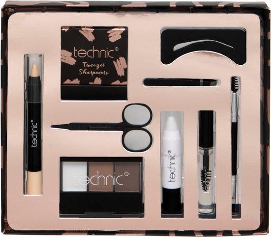 technic Augenbrauen-Kosmetika »Brow Kit«, 9-tlg.