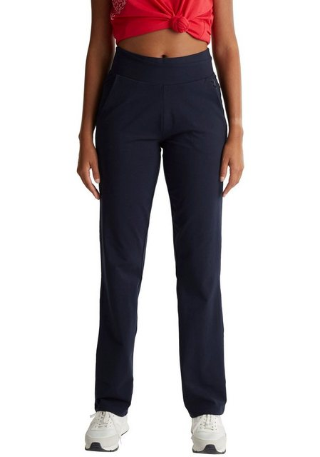 Hosen - esprit sports Jogger Pants mit elastischem Hosenbund in Wickel Optik › blau  - Onlineshop OTTO