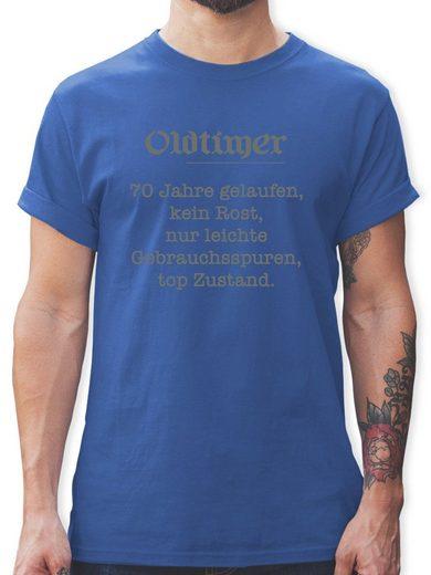 Shirtracer T-Shirt »70 Jahre Oldtimer Fun Geschenk - Herren Premium T-Shirt«