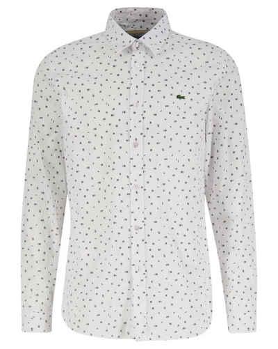 Lacoste Langarmhemd »Herren Freizeithemd Slim Fit«