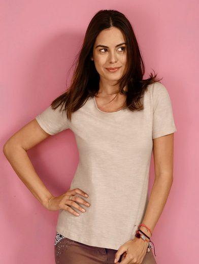 Laura Kent Shirt mit Spitzeneinsatz