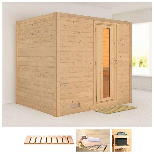 Saunen und Zubehör - KARIBU Sauna »Sonara«, 231x196x198 cm, ohne Ofen  - Onlineshop OTTO