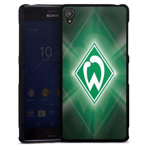 DeinDesign Handyhülle »Werder Bremen Laser« Sony Xperia Z3, Hülle SV Werder Bremen Offizielles Lizenzprodukt Wappen