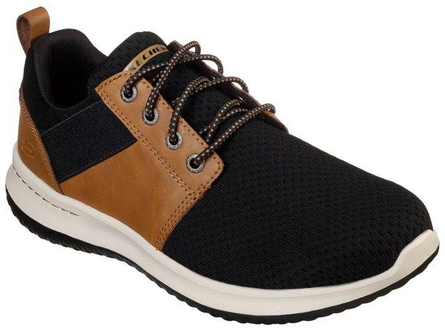 Skechers »DELSON-BRANT« Slip-On Sneaker mit gepolsterter Innensohle | Schuhe > Sneaker | Skechers