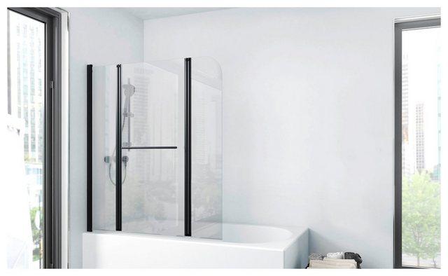 Badewannen und Whirlpools - Marwell Badewannenfaltwand »FACTORY«, Einscheibensicherheitsglas, (3 tlg), Breite 125 cm  - Onlineshop OTTO