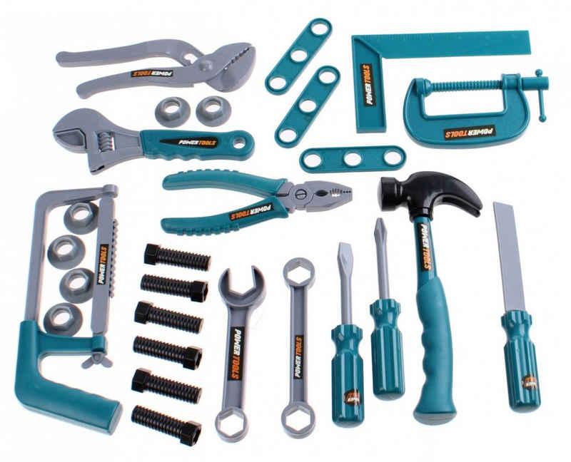 JOKA international Kinder-Werkzeug-Set »Power Tools Werkzeugset, 30tlg.«, (30-tlg)