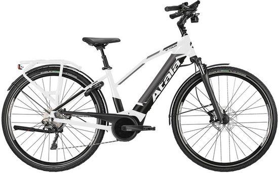 Atala E-Bike »B-Tour XLS Lady«, 10 Gang Shimano XT SGS Shadow Schaltwerk, Kettenschaltung, Mittelmotor 250 W