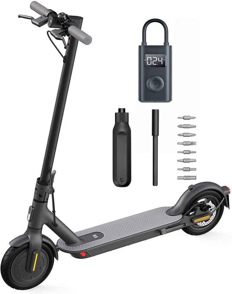 Xiaomi E-Scooter »Xiaomi Elektroroller 1S & Mi Tragbarer elektrischer Luftkompressor & Mi 16-in-1-Ratschenschraubendreher«, 600 W W, 20,00 km/h, 8,5 Zoll Reifen, 30km Reichweite, App