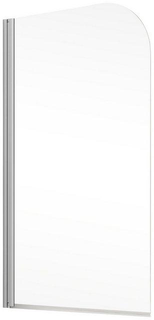 Badewannen und Whirlpools - Schulte Badewannenfaltwand »Komfort«, Einscheibensicherheitsglas, (2 tlg), Breite 80 cm  - Onlineshop OTTO