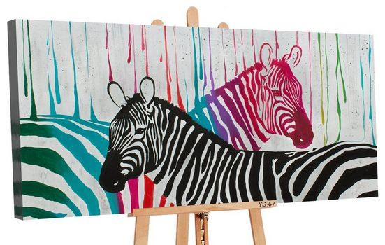 YS-Art Gemälde »Farben des Lebens II 156«