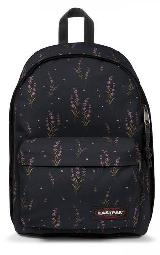 Eastpak Laptoprucksack »OUT OF OFFICE, Wild Black«, enthält recyceltes Material (Global Recycled Standard)