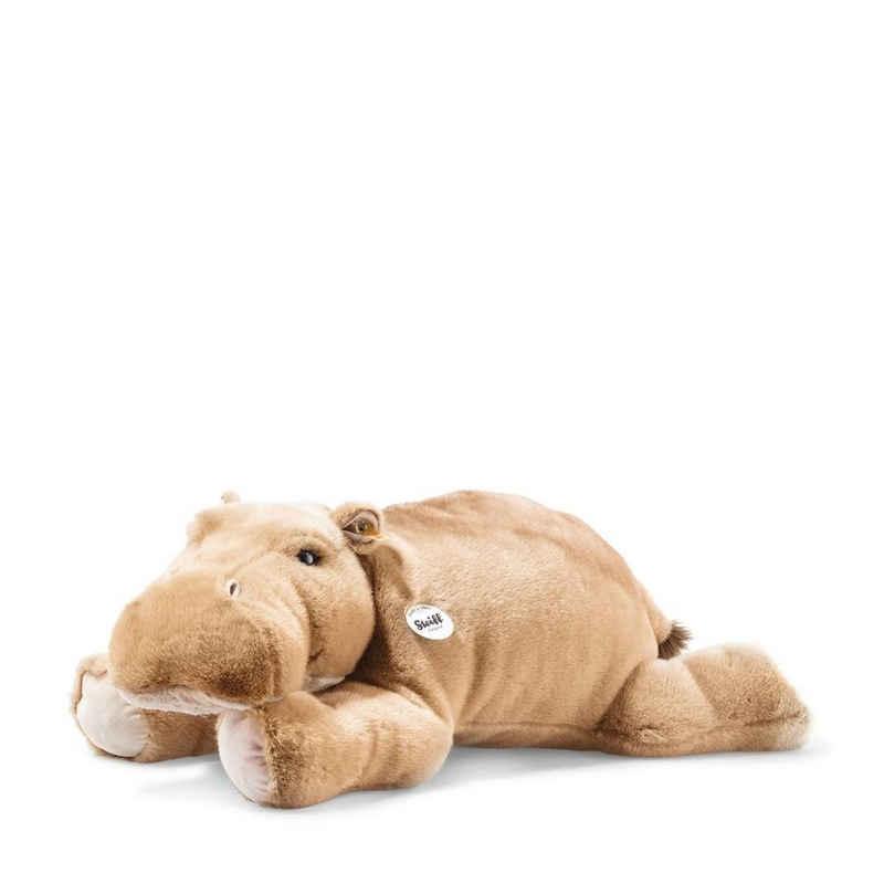 Steiff Kuscheltier »Nilpferd Hippo Mocky 80 cm braungrau liegend 085352«