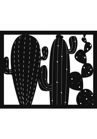 Art for the home Wanddekoobjekt »Cactus«