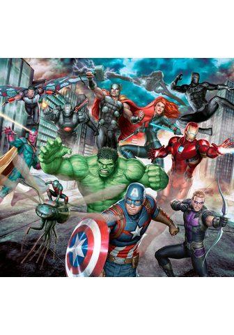 MARVEL Fototapetas »Avengers« (1 St) Mehrfarb...