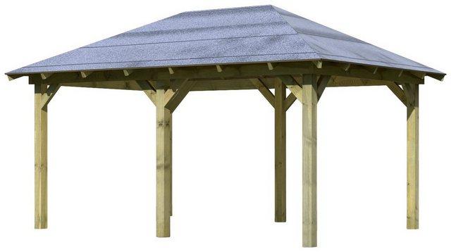 Karibu Holzpavillon Merida Massivholz kdi