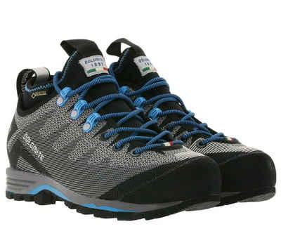Dolomite »Dolomite Veloce GTX Trekking-Schuhe bequeme Damen Outdoor-Schuhe Wander-Schuhe Grau/Schwarz/Blau« Trekkingschuh