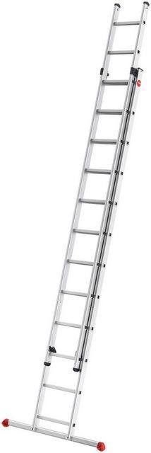 HAILO Leiter »ProfiStep«| 2-teilige Alu-Schiebeleiter | Baumarkt > Leitern und Treppen > Schiebeleiter | Hailo