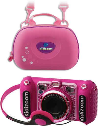 Vtech® »KidiZoom Duo DX, pink« Kinderkamera (5 MP, inkl. Tragetasche)