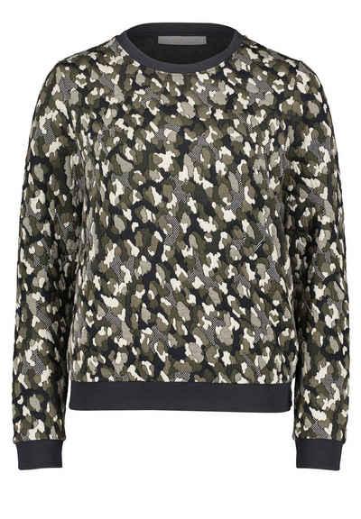 Betty&Co Sweatshirt »mit Struktur« Jacquard