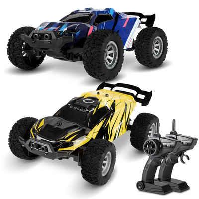 Overmax RC-Auto »X-QUEST« (2x RC-Autos), Ausgezeichnetes Rennset Reichweite 80m 2x Batterien SET 2x RC-Autos