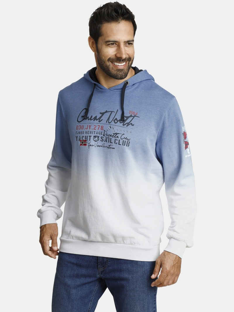 Jan Vanderstorm Kapuzensweatshirt »MAREK« jedes Teil ein Unikat