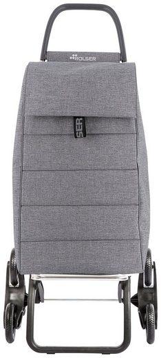 Rolser Einkaufstrolley »6 Jolie Tweed«, 35 l, Maße: 47,5x39,5x107 cm