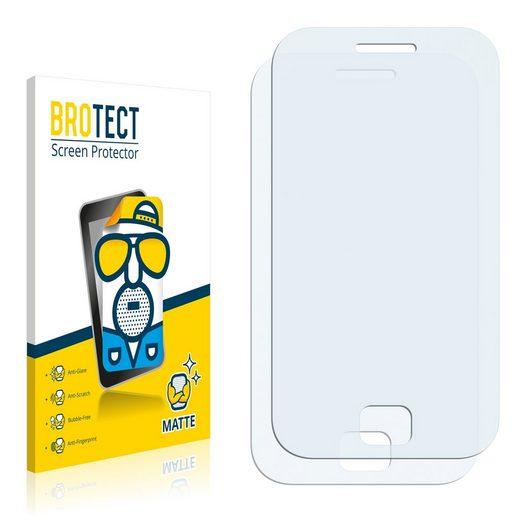 BROTECT Schutzfolie »für Samsung Galaxy Ace Duos S6802«, (2 Stück), Folie Schutzfolie matt entspiegelt