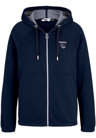 TOM TAILOR Sportinio stiliaus megztinis su Kapuze...