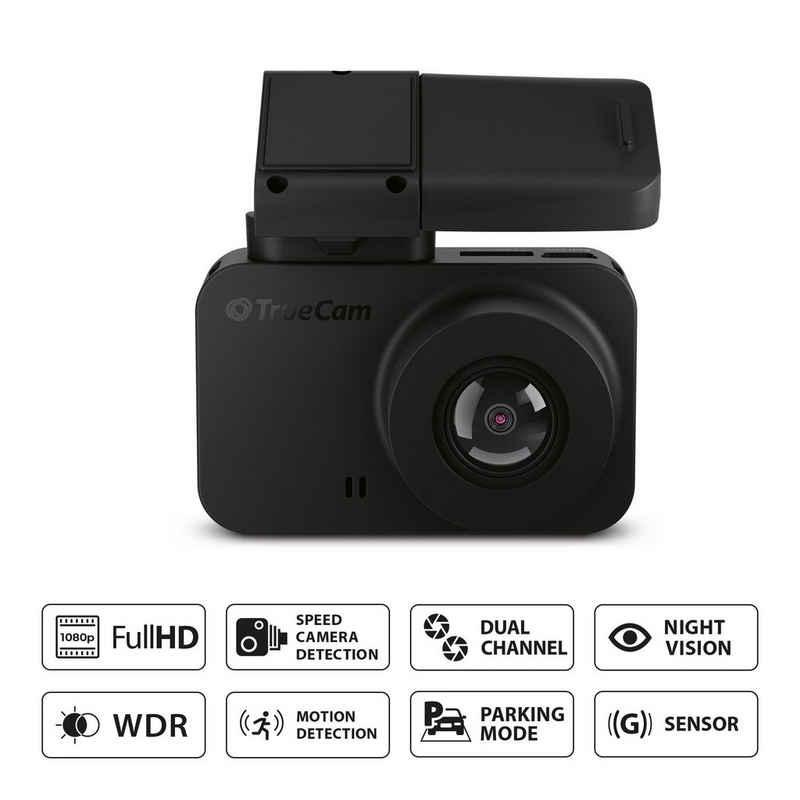 TrueCam »M7 GPS Dual Full HD« Dashcam (mit praktischer Radarwarnung)