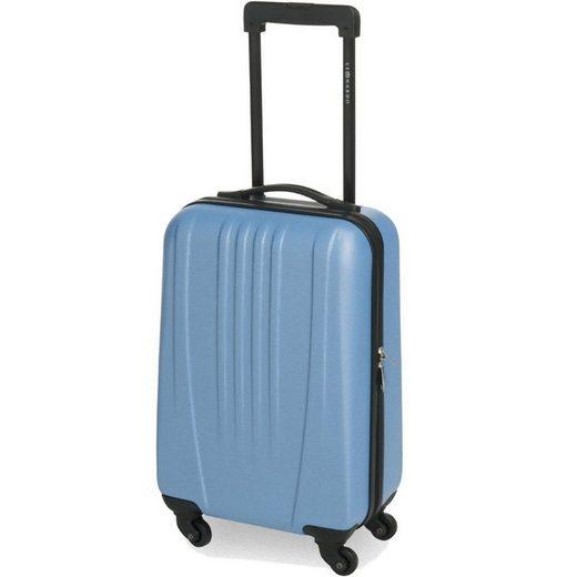 dynamic24 Handgepäck-Trolley, 4 Rollen, 31,5L Leonardo Koffer Reisekoffer Handgepäck Trolley Koffer Hartschale Boardcase