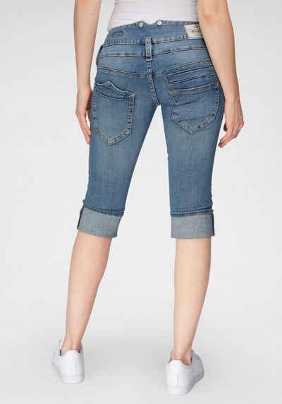 Herrlicher Jeansshorts »PITCH SHORT« mit Umschlagsaum