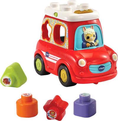 Vtech® Steckspielzeug »Sortierspaß - Auto«, mit Sound- und Lichteffekten