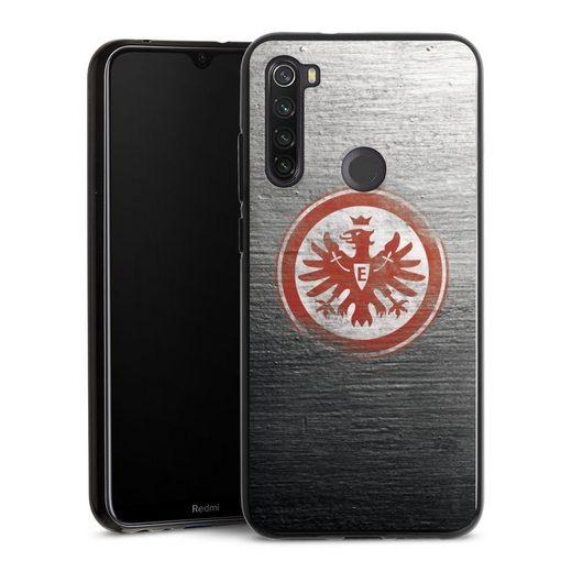 DeinDesign Handyhülle »Eintracht Logo Scratched« Xiaomi Redmi Note 8T, Hülle Eintracht Frankfurt SGE Logo