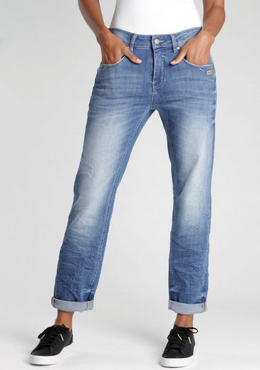 GANG Straight-Jeans »RUBINIA« mit Used-Effekten