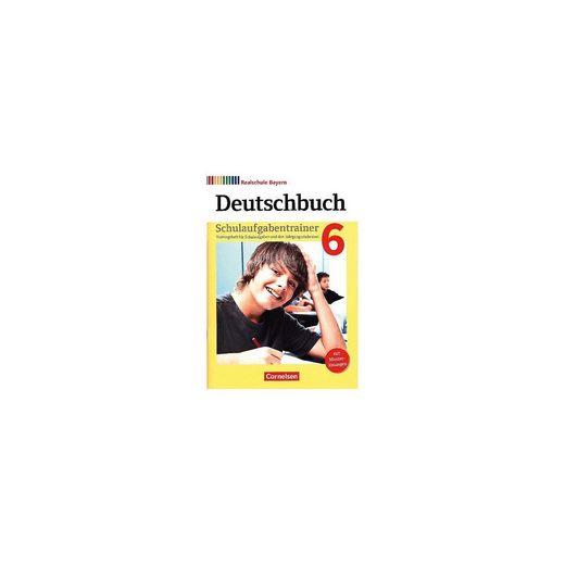 Cornelsen Verlag Deutschbuch, Realschule Bayern, Neubearbeitung 2017: 6. Jahr