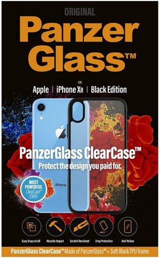 PanzerGlass Handytasche »ClearCase mit Blackframe für iPhone Xr«