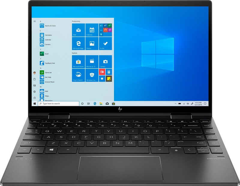 HP ENVY x360 Convert 13-ay0472ng Notebook (33,8 cm/13,3 Zoll, AMD Ryzen 7 4700U, Radeon, 256 GB SSD, Kostenloses Upgrade auf Windows 11, sobald verfügbar)