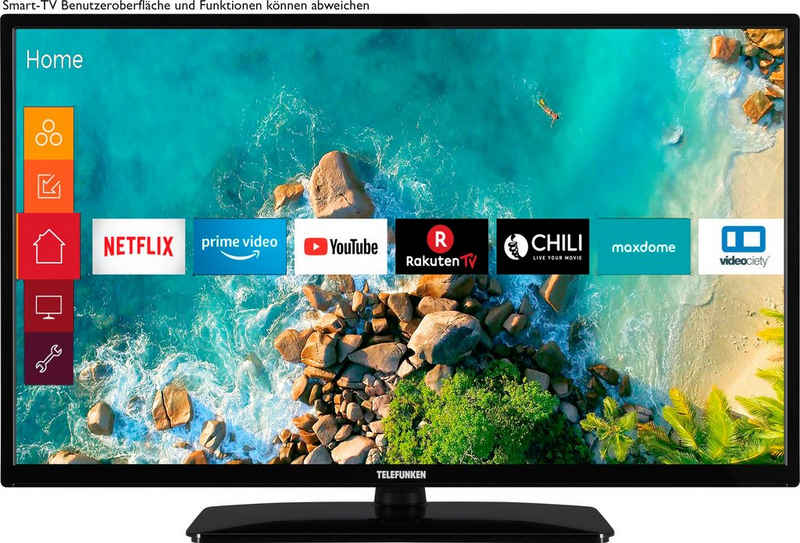 Telefunken OS-32H500 LED-Fernseher (80 cm/32 Zoll, HD-ready, Smart-TV)