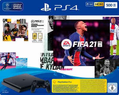 PlayStation 4 Slim, inkl. FIFA 21