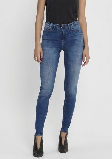 Only High-waist-Jeans »PAOLA« 5-Pocket-Design