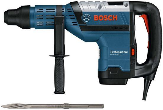 Bosch Professional Bohrhammer »GBH 8-45 D Professional«, SDS-Max, im Koffer