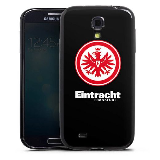 DeinDesign Handyhülle »Eintracht Frankfurt schwarz« Samsung Galaxy S4, Hülle Eintracht Frankfurt SGE Adler