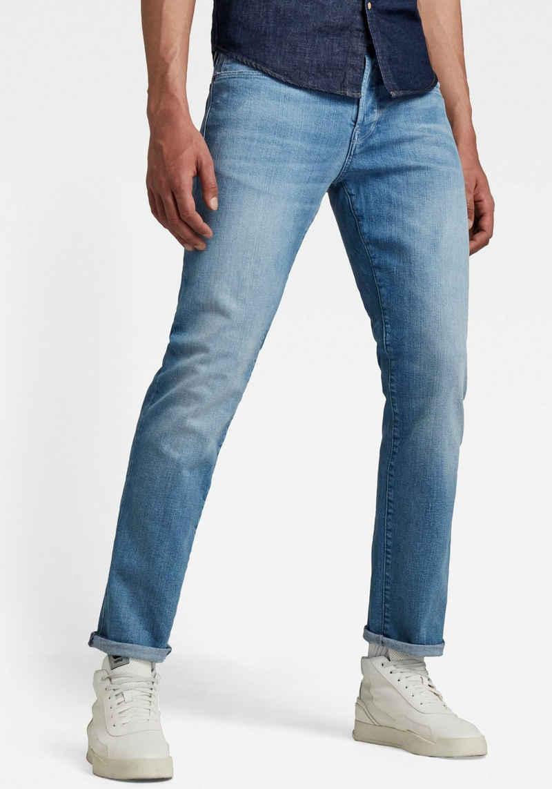 G-Star RAW Straight-Jeans »Jeans 3301, Azure stretch Denim«