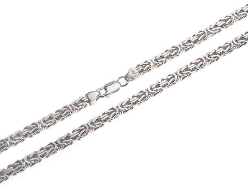 Silberkettenstore Königskette »Königskette 4,5mm, 925 Silber 40-100cm wählbar«