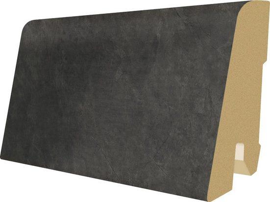 EGGER Sockelleiste »L304 - Schiefer anthrazit«, L: 240 cm, H: 6 cm