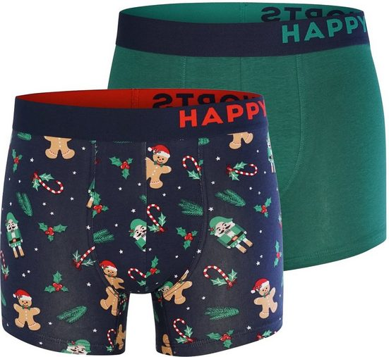 HAPPY SHORTS Trunk »2-Pack Nutcracker«