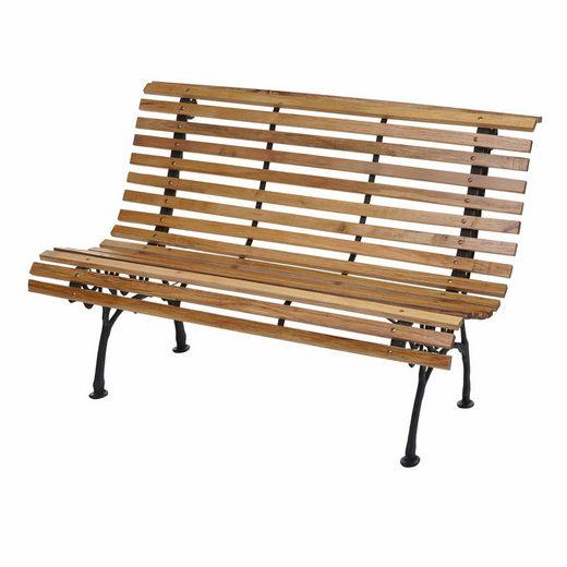 MCW Gartenbank »MCW-F97«, Hohe Rückenlehne, Verspieltes Design, Maximale Belastbarkeit: 300 kg