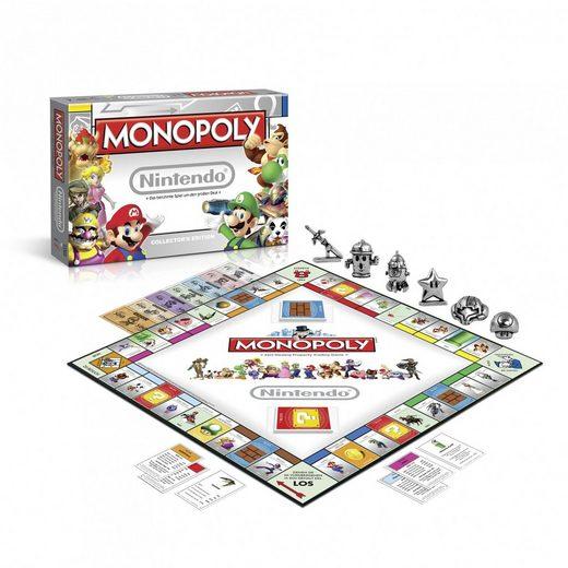 Winning Moves Spiel, Brettspiel »Monopoly Nintendo«