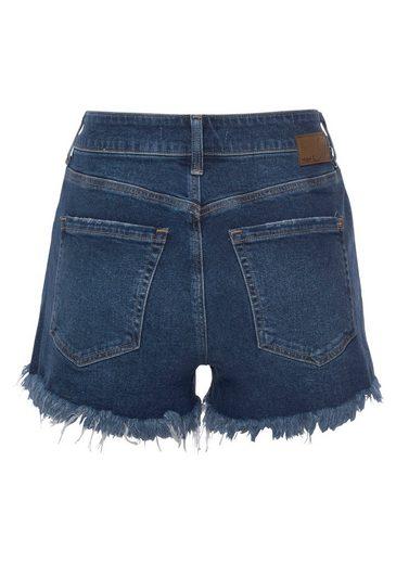 Mavi Jeansshorts  ROSIE  mit leicht ausgefranster Kante